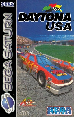 Daytona USA PAL cover