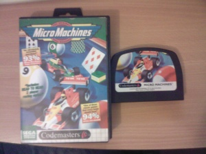 Micro Machines SMS