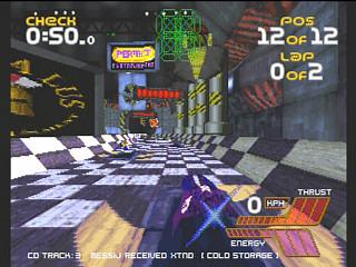 Wipeout 2097 (Sega Saturn)