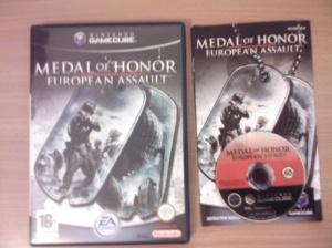 Medal of Honor European Assault GCN