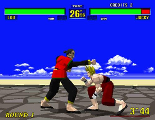 Virtua Fighter (Sega Saturn)