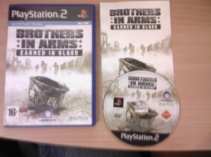 Brothers in Arms Earned in Blood PS2