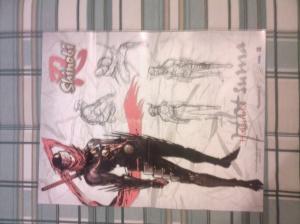 Shinobi PS2 Poster