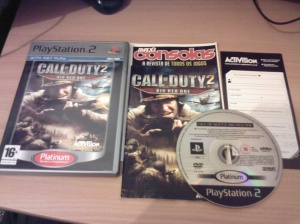 Call of Duty 2 Big Red One PS2