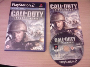 Call of Duty Finest Hour PS2