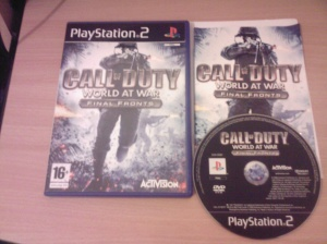 Call of Duty World at War Final Fronts PS2