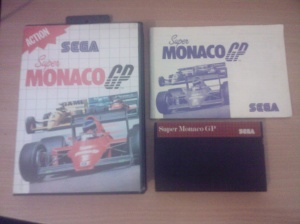 Super Monaco G.P. - Sega Master System