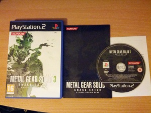 Metal Gear Solid 3 Snake Eater - PS2