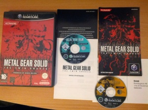 Metal Gear Solid the Twin Snakes - Nintendo Gamecube