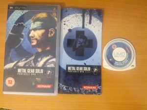 Metal Gear Solid Portable Ops Plus - PSP