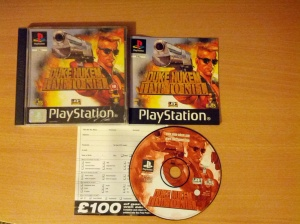 Duke Nukem Time to Kill - Sony Playstation