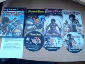 Prince of Persia Trilogy - Sony Playstation 2