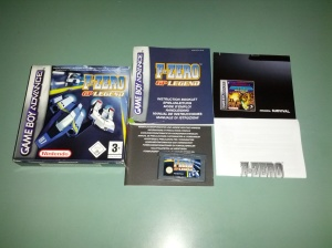 F-Zero GP Legend - Nintendo Gameboy Advance