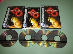 Enemy Zero - Sega Saturn