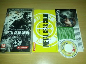 Metal Gear Solid Portable Ops - Sony Playstation Portable