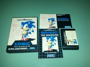 Sonic the Hedgehog - Sega Mega Drive