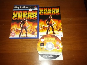 Urban Chaos Riot Response - Sony Playstation 2