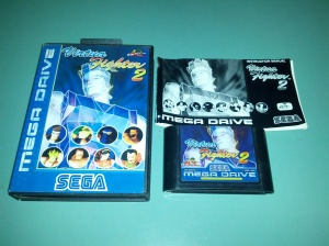 Virtua Fighter 2 - Sega Mega Drive