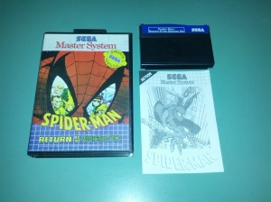 Spider-Man Return of the Sinister Six - Sega Master System