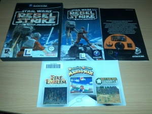 Star Wars Rogue Squadron III Rebel Strike - Nintendo Gamecube