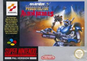 Super Probotector Alien Rebels