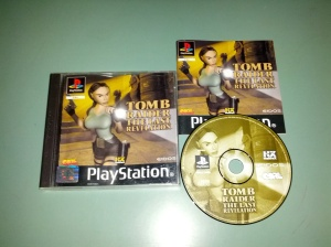 Tomb Raider The Last Revelation - Sony Playstation