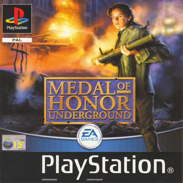 Medal Of Honor Underground Sony Playstation