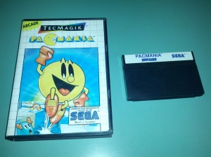 Pac-Mania - Sega Master System