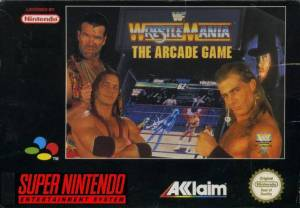 Wrestlemania - The Arcade Game - SNES