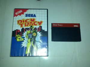 Dick Tracy - Sega Master System