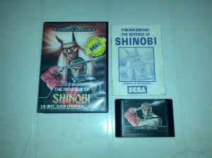 The Revenge of Shinobi - Sega Mega Drive