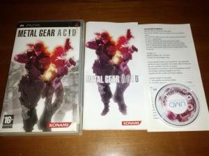 Metal Gear Acid - Sony Playstation Portable