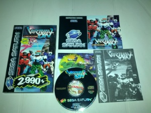 Virtual-On Cyber Troopers - Sega Saturn