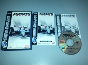 Andretti Racing - Sega Saturn