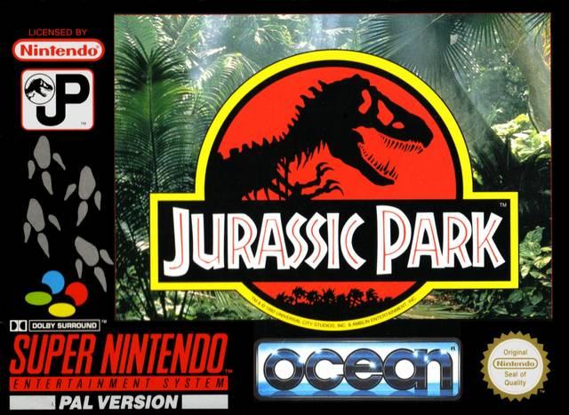 Jurassic Park (SNES) recria a luta pela sobrevivência em meio a dinossauros Jurassic-park-snes