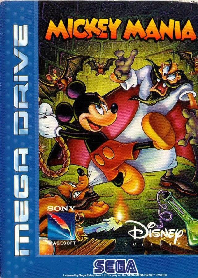 Mickey Mania Sega Mega Drive Greenhillszone