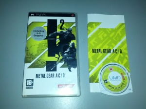 Metal Gear Acid 2 - Sony Playstation Portable