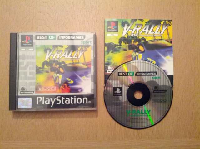 V-Rally - Sony Playstation