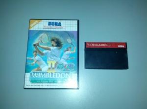 Wimbledon II - Sega Master System