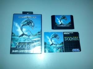 Ecco the Dolphin - Sega Mega Drive