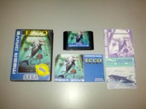 Ecco The Tides of Time - Sega Mega Drive