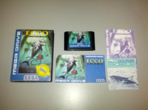 Ecco The Tides of Time - Sega Mega Drive