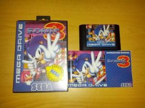 Sonic 3 - Sega Mega Drive