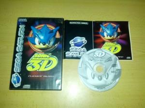 Sonic 3D - Sega Saturn