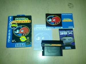 Sonic and Knuckles - Sega Mega Drive