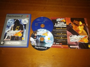 Tekken 4 Platinum - Sony Playstation 2