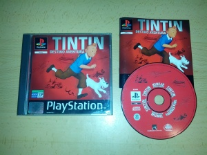 Tintin Destino Aventura - Sony Playstation