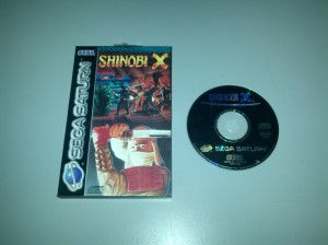 Shinobi X - Sega Saturn
