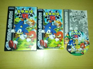 Sonic R - Sega Saturn