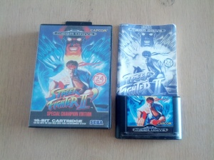 Street Fighter II Special Champion Edition - Sega Mega Drive